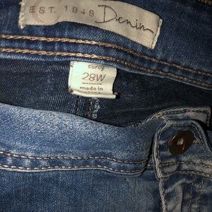 Denim - Bootcut plus size jeans
